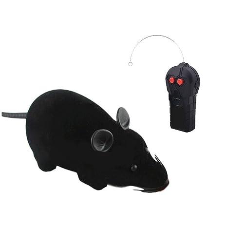 Juguetes para gatos de ratón, mando a distancia inalámbrico, juguete para gatos