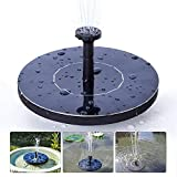 Solar Water Pump, XKTTSUEERCRR 1.4W Solar Power Panel Kit Solar Fountain for Pond, Pool, Garden, Fish Tank, Aquarium