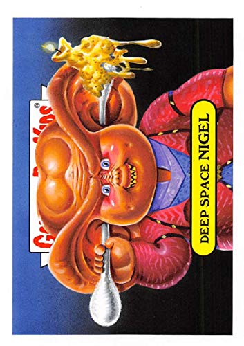 2019 Topps Garbage Pail Kids We Hate the '90s TV Sticker A-Names Non-Sport #14 DEEP SPACE NIGEL Collectible Trading Card Sticker (Star Trek Deep Spac