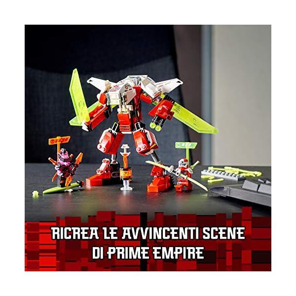 LEGO Ninjago Mech-Jet di Kai 2 In1 Set di Costruzioni Ricco di Dettagli con Digi Lame In 1 Jet, Spara con i Tuoi Shooter… 3 spesavip