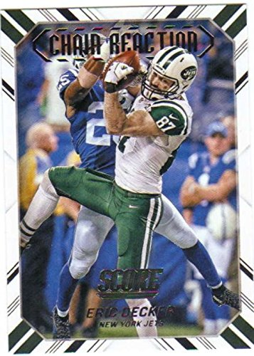(2016 Score Chain Reaction #12 Eric Decker NY Jets Football Card NM-MT)