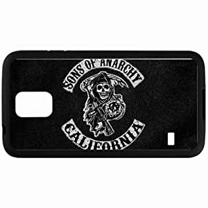 Personalized Samsung S5 Cell phone Case/Cover Skin Logo Anarchy Sons Series Logo California Black