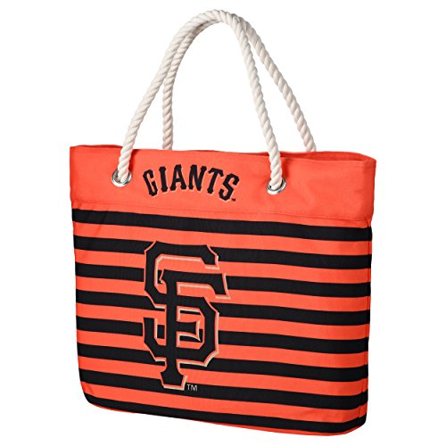 San Francisco Giants Nautical Stripe Tote Bag