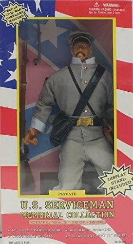 Mart Exclusive. US Serviceman Memorial Collection Union Private. Civil War 1861 - 1865 (Civil War Statue)