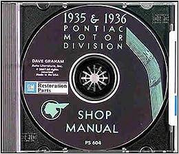 1935-1936 Pontiac Repair Shop Manual Service Book