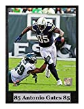 Encore Select 511-51 NFL San Diego Chargers Antonio Gates Logo Plaque, 9-Inch by 12-Inch