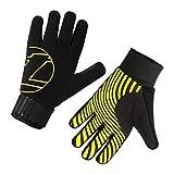 Unisex Cold Weather Plus Gloves 2.0 - Black/Hi-Viz Yellow - Med (W: XL)