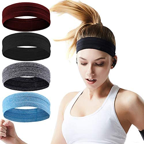 Workout Headbands Women Men Sweatbands product image