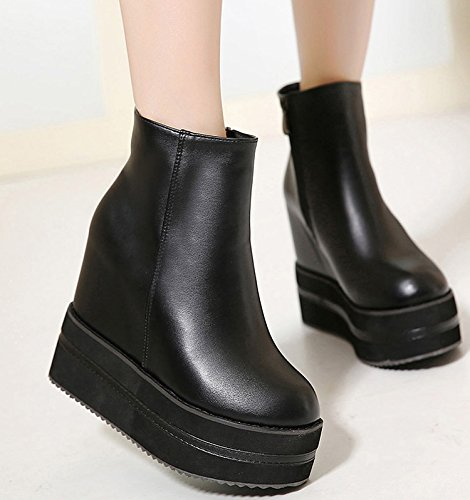 il nero invernali scarpe con 39 martin black scarpe scarpe e gli caldo34 spessa stivali GTVERNH alto nostro SdPSHq