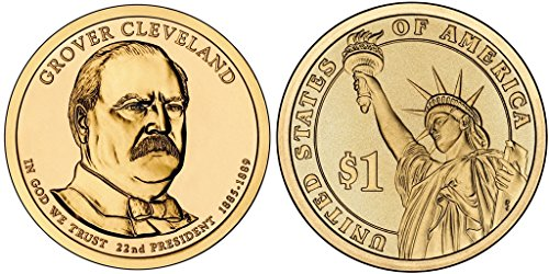 2012 P&D Grover Cleveland Presidential Dollar Set NOW IN STOCK!