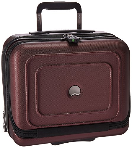 Delsey Luggage Cruise Lite Hardside 2 Wheel Underseater with Front Pocket, Black ()