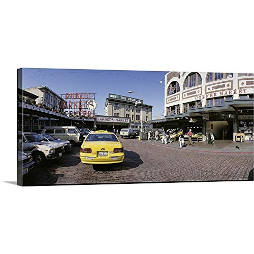- GREATBIGCANVAS Gallery-Wrapped Canvas Entitled Pike Place Market Seattle WA by 60