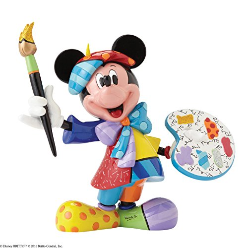Mouse Mickey Collectables - Disney by Britto Mickey Mouse Artist Stone Resin Figurine