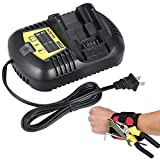 Lithium Ion Battery Charger for Dewalt Batteries 10.8V 12v 14.4v 18v 20V Replacement Dewalt DCB105 Charger DCB101