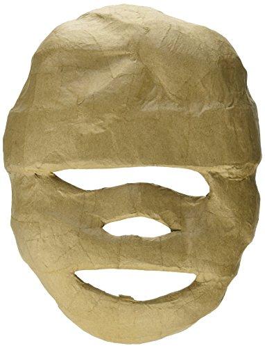 Paper Mache Mummy - Craft Ped Paper CPLMB0016 Mache Mask Mummy Kraft