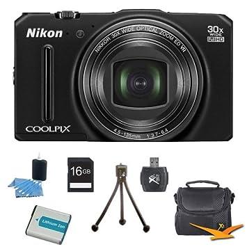 Amazon.com: Nikon Coolpix S9700 16 MP HD 1080P, 30 x OPT ...