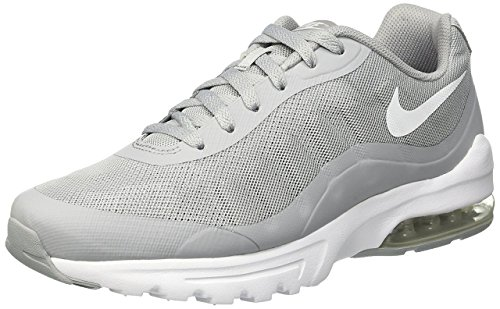 Nike Men's Air Max Invigor Print Running Shoe, Wolf GreyWhite, 8 D(M) US