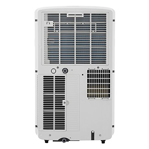 LG LP0817WSR 115V Portable Air Conditioner with Remote Control in White for Rooms up to 150-Sq. Ft.