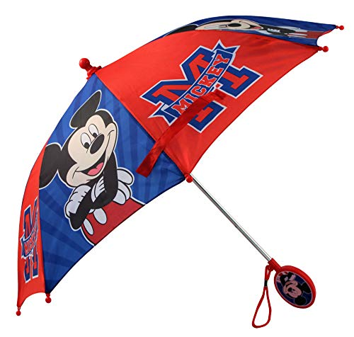 Disney Little Boys Assorted Characters Rainwear Umbrella, Ages 3-7