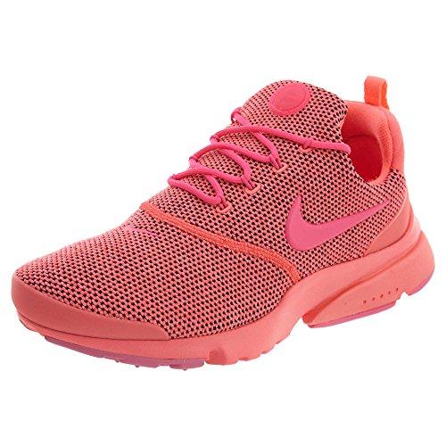 Nike Women's Presto Fly SE Running Shoe (8.5 B(M) US, Hot Punch/Pink Blast)