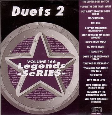 Duets Karaoke Music (Legends Karaoke Volume 166 - Duets (CD+G))