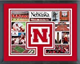 Nebraska Cornhuskers Photo Collage Matted & Framed 12.5'' x 15.5''