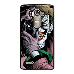 Wunatin Hard Case ,LG G4 Cell Phone Case Black The Joker [with Free Touch Stylus Pen] BA-2235433