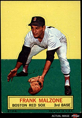 1964 Topps Stand Up Frank Malzone Boston Red Sox (Baseball Card) Dean's Cards 5 - EX Red Sox