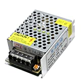 WELSUN LED Fuente de Alimentación conmutada 12V 2A 25W Adaptador de Corriente Transformador de Iluminación AC85V-240V a DC12V Controlador de Tamaño Mini