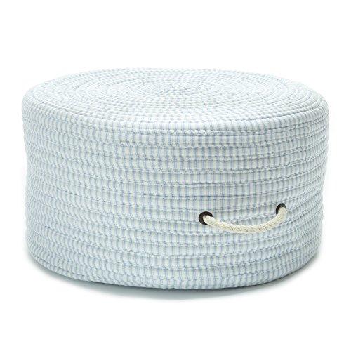 Ticking Fabric Stripe Pouf TX50 Ottoman