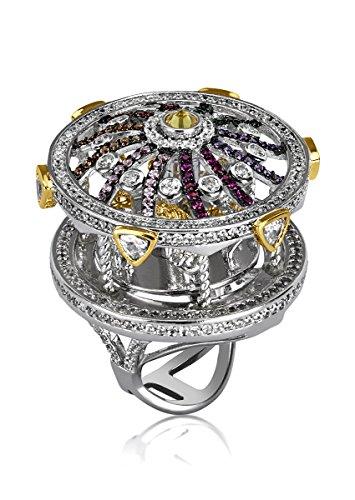 shaze Bold Carousel Ring|Gift for Her Birthday by shaze