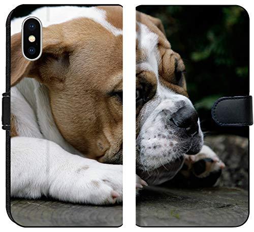 - Apple iPhone X Flip Fabric Wallet Case Image ID: 7835879 Continental Bulldog Puppy