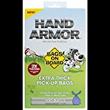 Bags on Board Extra Thick Hand Armor Dog Waste Bags - 7x15 in - 100 bags