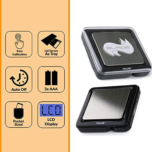 American Weigh Scales Blade Series Digital Precision Pocket Weight Scale