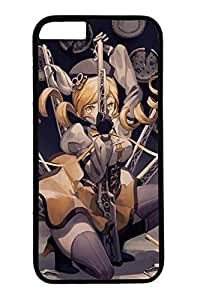 Anime Cool Girl 3 Cute Hard Cover For iphone 6 6s Plus Case ( 5.5 inch ) PC Black Cases