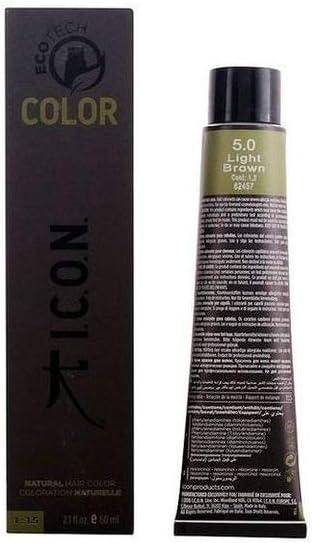 Icon Ecotech Natural Color 5.0 Light Brown Tinte - 60 ml (8436533671653)
