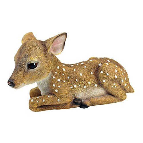 Design Toscano Darby, the Forest Fawn Baby Deer Statue