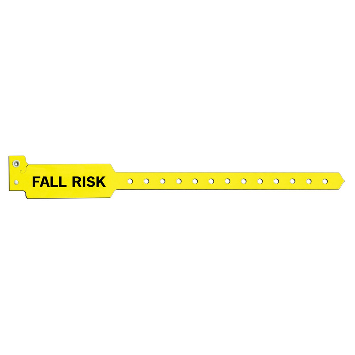 Sentry 5075-14-PDM Alert Bands, Poly''Fall Risk'' Pre-Printed, State Standardization, 1'' x 11/4'', Adult/Pediatric, Yellow (Pack of 500)