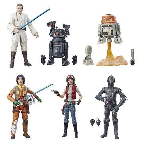 Series 6 Figure Wave - Star Wars: The Black Series 6-Inch Action Figure Wave 21 Set