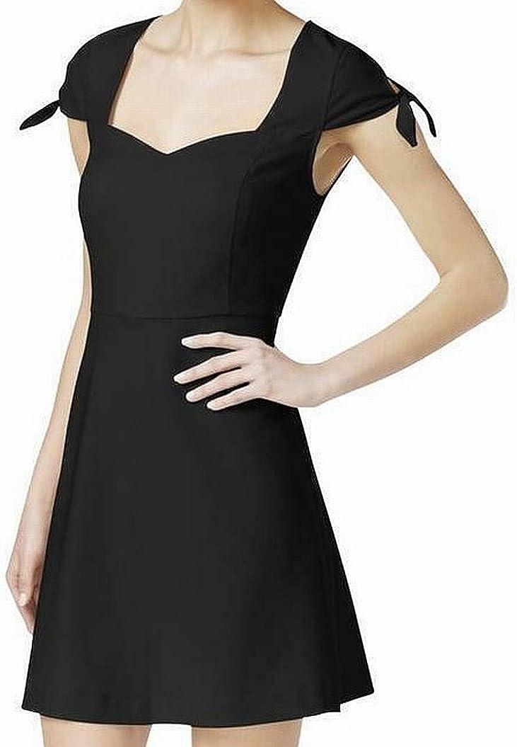 Kensie Women/'s Tie Neck Dress