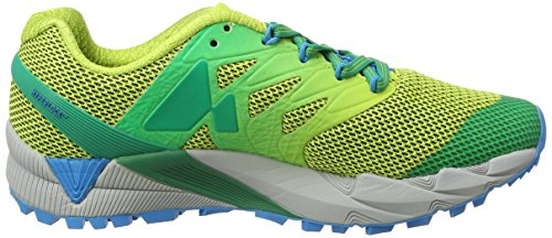 2 Peak Gtx Flex Trail Femme acid Chaussures Agility Merrell Lime Green De Og4wtnqB56