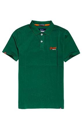 e188481b10ba Superdry Men's Mercerised Lite City Polo Shirt: Amazon.co.uk: Clothing