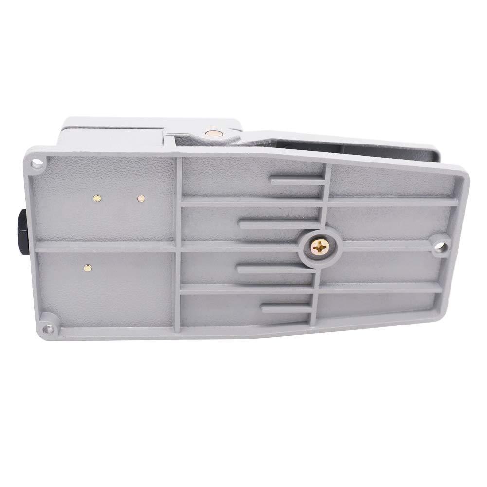 LT4 FOOT SWITCH PEDAL 5 A climatisation 380 V 15 A 250 V matériel en Aluminium Jaune