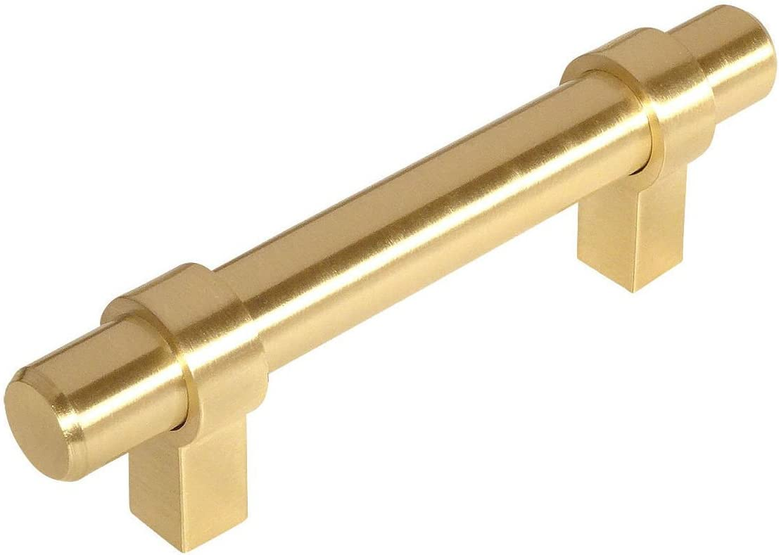 25 Pack 2021 new - Max 77% OFF Cosmas 161-2.5BB Brushed Brass Bar Contemporary Cabine