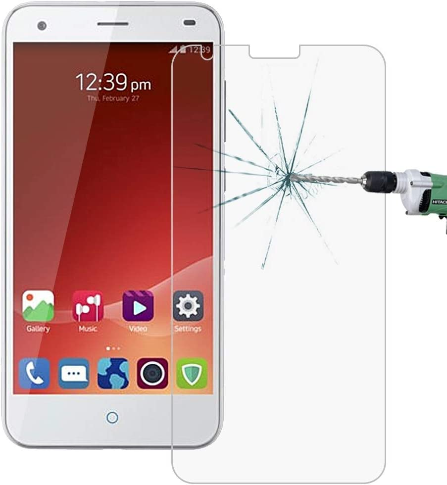 No Retail Package Clear 50 PCS for ZTE Blade S6 0.26mm 9H Surface Hardness 2.5D Explosion-Proof Tempered Glass Film YINZHI Screen Protector Film