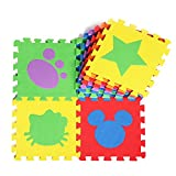 Puzzle Eva Foam Play Mat Jigsaw Pad Floor For Baby Games 10pcs/set Carpet Coffee Table Area Rug Children Game
