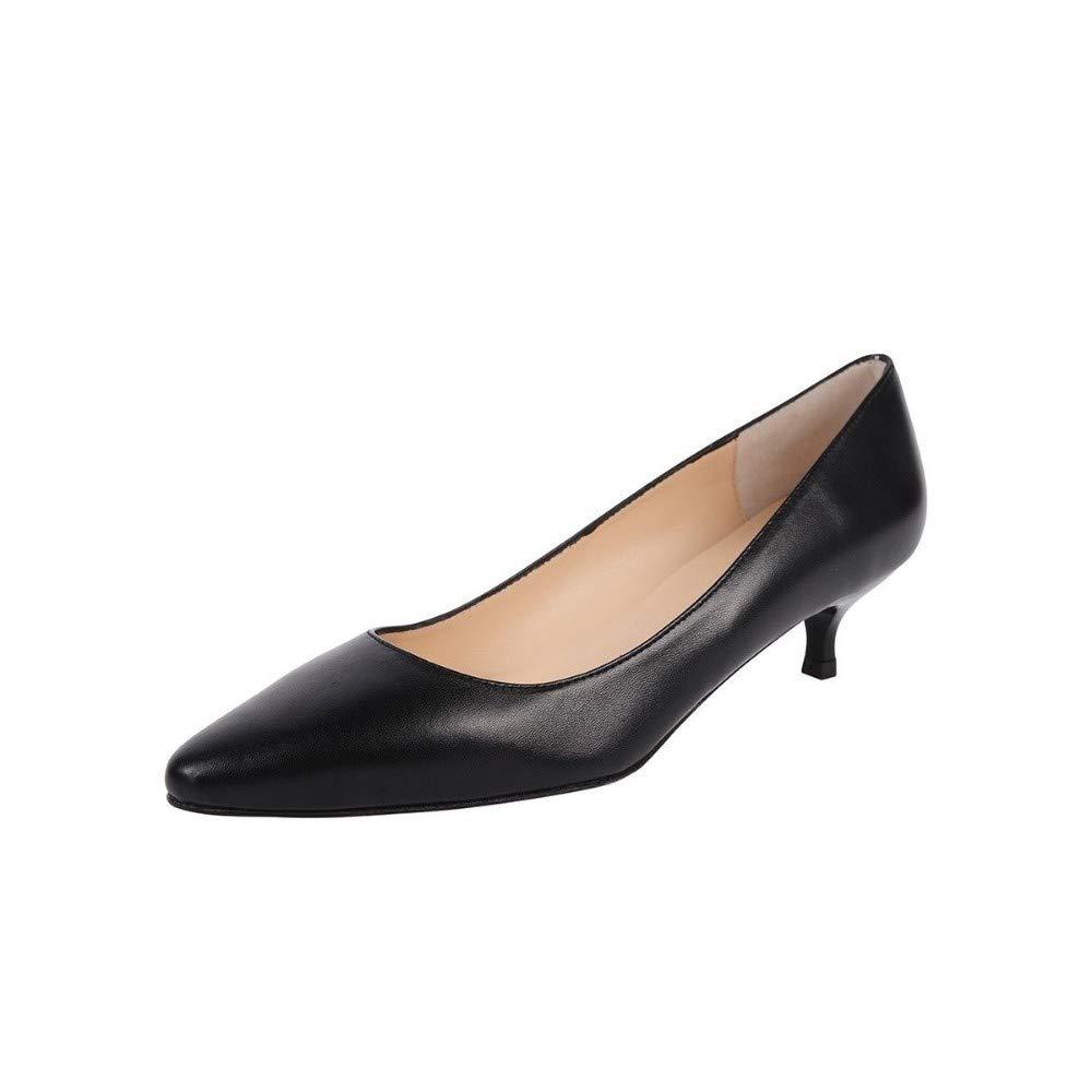 6 Jon Josef Monelle Black Loafer Flat M