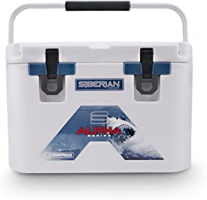 Siberian Coolers 22 Quart Alpha Pro Series in White Includes Accessories