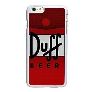 Duff Beer O5I7Xt Funda LG G 6 6S Plus 5.5 pulgadas funda la caja del teléfono celular blanco N3A4PL funda caja del teléfono personalizada
