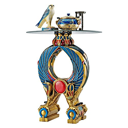 - Design Toscano Wings of Horus Egyptian Altar Side Table